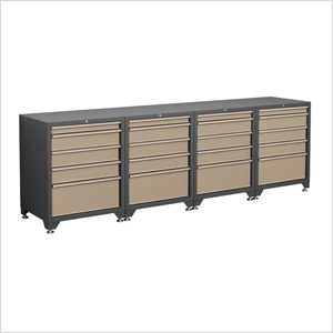 Charmant 4 X 18 Gauge Taupe 5 Drawer Base Cabinet