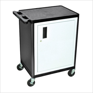 1-Door Endura Console with 2 Shelves