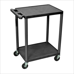 Endura Console Cart with 2 Shelves