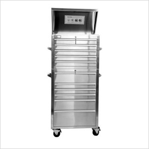"27"" Stainless Steel Tool Chest"