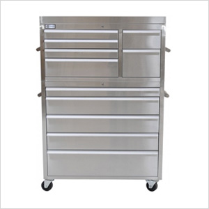 "41"" Stainless Steel Tool Chest"