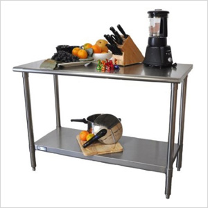 """EcoStorage 48"""" NSF Stainless Steel Table"""