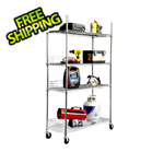 Trinity EcoStorage 4-Tier NSF Wire Shelving Rack
