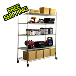 Trinity 5-Tier Commercial Duty XL Shelving Rack