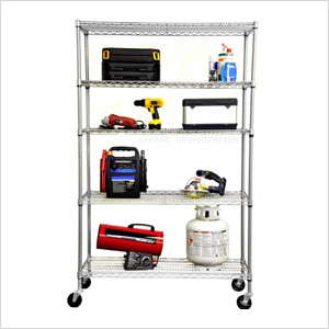5-Tier Outdoor Shelving Rack