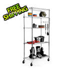 Trinity EcoStorage 5-Tier NSF Wire Shelving Rack