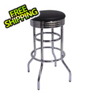 Trinity Chrome Swivel Barstool