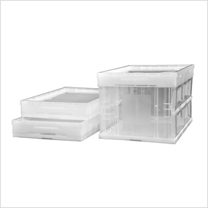 46.5 Quart Collapsible Crate (3-Pack)