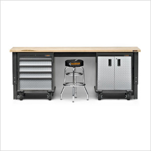 4-Piece Premier Garage Cabinet Set