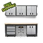 Gladiator GarageWorks 10-Piece Premier Garage Cabinet Set