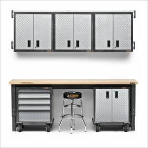10 Piece Premier Garage Cabinet Set