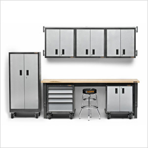 11-Piece Premier Garage Cabinet Set