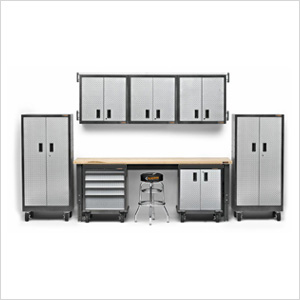 12-Piece Premier Garage Cabinet Set