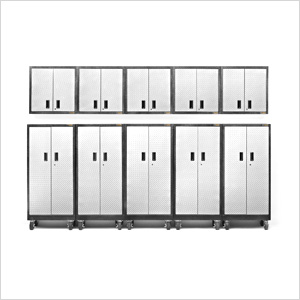 10-Piece Premier Garage Cabinet Set