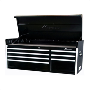 56-Inch 7-Drawer Top Chest Toolbox (Black)