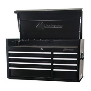 41-Inch 8-Drawer Top Chest Toolbox (Black)