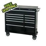 Montezuma 41-Inch 11-Drawer Roller Tool Cabinet (Black)