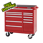Waterloo 41-Inch 11-Drawer Tool Cabinet with Drawer Liners and Upgraded Casters