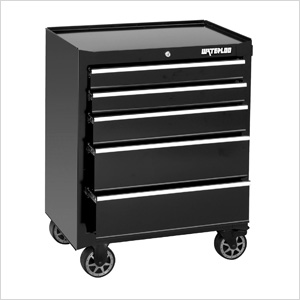26-Inch 5-Drawer Tool Cabinet with Liners and Upgraded Casters