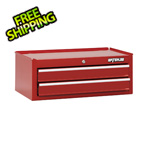 Waterloo 26-Inch Red 2-Drawer Intermediate Tool Chest with Liners