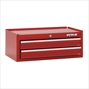 26-Inch Red 6-Drawer Intermediate Tool Chest with Liners