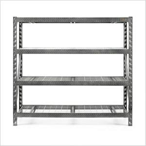 77-Inch Tool-Free Rack Shelving