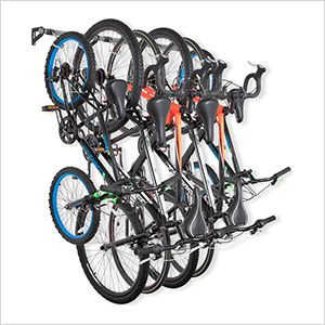 Bike Storage Rack (Holds 6 Bikes)