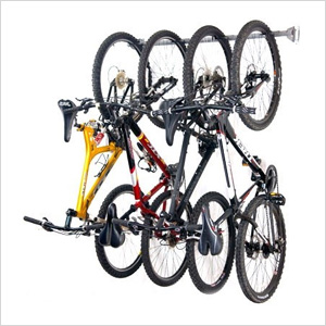 Bike Storage Rack (Holds 4 Bikes)