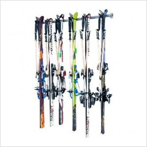 6-Pair Ski Storage Rack