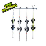 Monkey Bars 4-Pair Ski Storage Rack