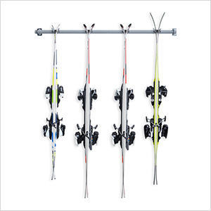 4-Pair Ski Storage Rack