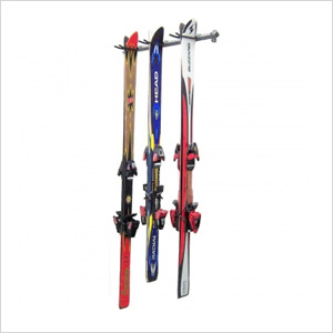 3-Pair Ski Storage Rack