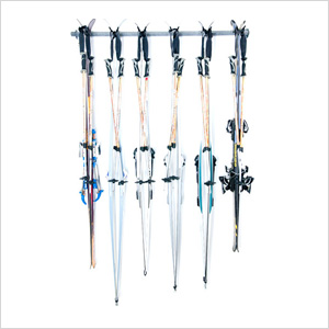 6-Pair Cross Country Ski Rack