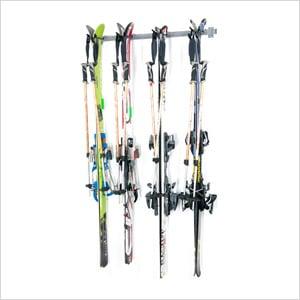 4-Pair Cross Country Ski Rack