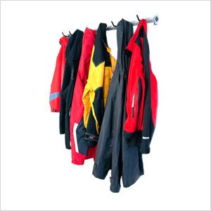 Large Garage Coat Rack