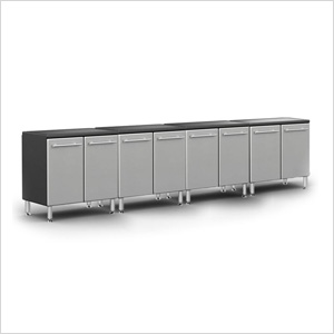 4-Piece 2-Door Base Cabinet System