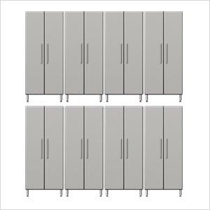 8-Piece Tall Garage Cabinet System