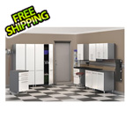Ulti-MATE Cabinets 10-Piece Cabinet Kit in Starfire Pearl