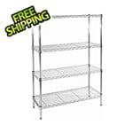 Seville Classics 36-Inch 4-Shelf Shelving System