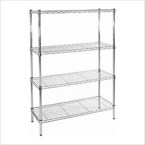 36-Inch 4-Shelf Shelving System