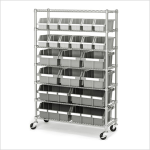 Commercial Bin Rack System