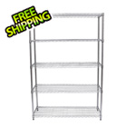 Trinity EcoStorage 5-Tier NSF Shelving Rack