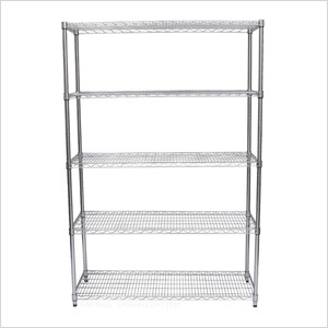 EcoStorage 5-Tier NSF Shelving Rack