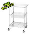 Seville Classics Stainless Steel Work Table / Cart