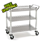 Seville Classics Heavy-Duty Commercial Utility Cart