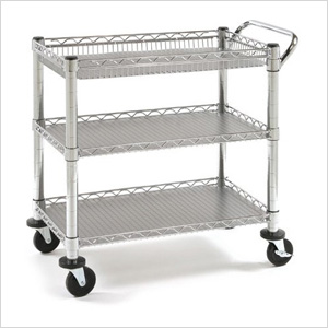 Heavy-Duty Commercial Utility Cart