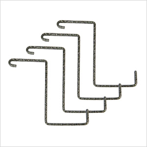 Add-On Storage Hooks (4-Pack)