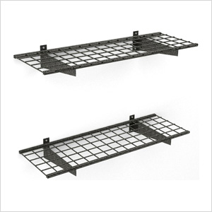 45 x 15-Inch Wall Shelves (2-Pack)