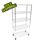 Seville Classics 5-Shelf Steel Wire Shelving