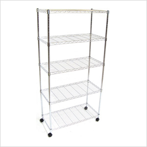 5-Shelf Steel Wire Shelving